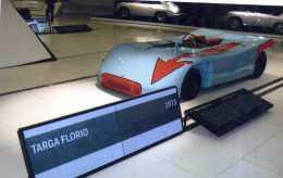X MUSEO PORSCHE ZONA TARGA FLORIO PORSCHE 908 FOTO RIPRODUZIONE 13 X 18 - Riproduzioni