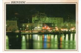 BRINDISI - Il Porto Di Notte - Brindisi
