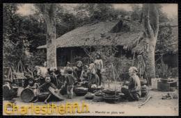 Environs De SAIGON - Marché En Plein Vent  -  Animée !! - Viêt-Nam