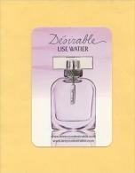 LISE WATIER - DÉSIRABLE (LIQUATOUCH) - MODELE 2 - Perfume Cards