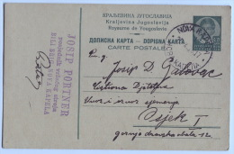 Croatia - NOVA KAPELA, Postal Stationery, 1936. - Kroatien