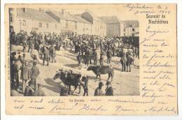 E2001 - Souvenir De Neufchâteau - Le Marché   *Nels 32 N° 15* 1901* - Neufchâteau