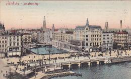 Bridge, Jungfernstieg, Hamburg, Germany, PU-1908 - Allemagne