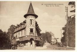 CP, 61, Bagnoles-de-L'Orne, Rue De La Ferté, Vierge - Bagnoles De L'Orne