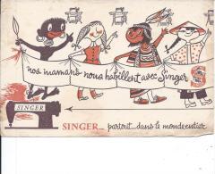 BUVARD - SINGER - Textile & Vestimentaire