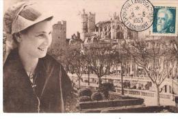 Narbonne Exposition Philatélique Languedoc Roussillon Du 9 Au 14 Mai 1953 - Narbonne