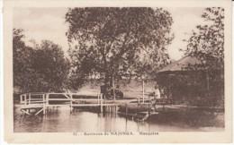 Majunga Mahajanga Madagascar, Mangatsa Auto, Dock, C1920s/30s Vintage Postcard - Madagascar
