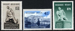 Belgium B495-97 Mint Hinged National Monument Semi-Postal Set From 1951 - Belgium