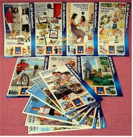 13 X ALDI Informiert 2009 Reklame Prospekte  - Insgesammt  Ca. 380 Seiten - Reklame