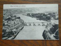 La Vallée De La Meuse Anno 1909 ( Zie Foto´s Voor Details ) !! - Hoei