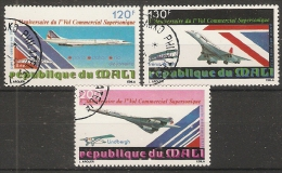 Mali  1979  3rd Ann. Of Concorde  (o) - Mali (1959-...)
