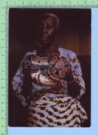 Benin  ( Femme Avec Python Sacré )  2 Scan Post Card Carte Postale - Benin