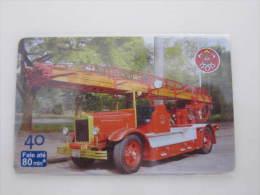 Brazil Inductive Phonecard, Fireman,used - Firemen