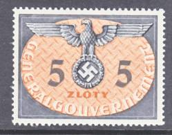 German Occupation Poland NO  15   * - Occupation 1938-45