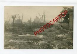 BEERST-DIKSMUIDE-destructions-CARTE PHOTO Allemande-GUERRE 14-18-1WK-BELGIQUE-BELGIEN- - Diksmuide