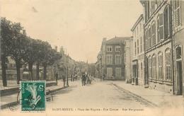55 SAINT MIHIEL PLACE DES REGRETS RUE CARNOT RUE MORGUESSON - Saint Mihiel