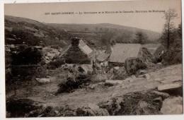 Saint Herbot La Montagne Et Le Moulin De La Cascade Environs D Huelgoat - Saint-Herbot