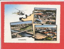 14 COLOMBELLES Cpsm Multivues Helicoptere    170 Lapie - Sonstige Gemeinden