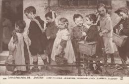 Geoffroy. Salon Du Petit Palais 1918. La Petite école. La Rentrée - Non Classés