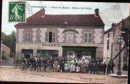 95 - CHAUMONTEL - PLACE DE L'EGLISE - MAISON DUTRIEUX - France