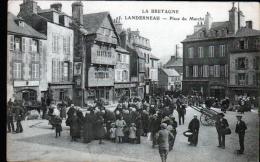 29 - LANDERNEAU - PLACE DU MARCHE - Landerneau