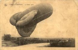 MILITARIA  - AVIATION - ELSENBORN - 1914-18 - LE BALLON CAPTIF - CPA ECRITE - Dirigeables