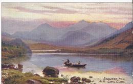 7289 - Snowdon From Capel Curig - Pays De Galles