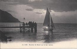 7295 - Coucher De Soleil Sur Le Lac Léman - VD Vaud