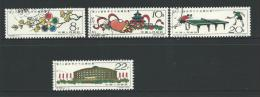 1961 26th World Table Tennis Championships  Set Of 4 Used  SG 1968/1971  In SG  2011 China Cat  Great Stamps - Gebruikt
