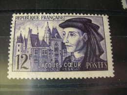 TIMBRE OBLITERE YVERT N° 1034 - France