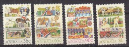 PGL Y417 - AUSTRALIE Yv N°994/97 ** ANIMAUX ANIMALS - Mint Stamps