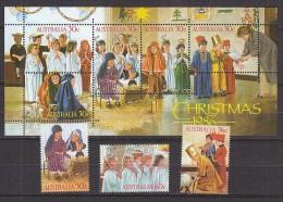PGL AB084 - AUSTRALIE Yv N°981/83 + BF ** - Mint Stamps