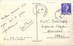 ALGERIE - POSTE AUX ARMEES A.F.N. DU 13-11-1956 SUR 20F MULLER  - CARTE DE BONE POUR LA FRANCE. - Guerra D'Algeria