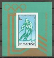 BULGARIA 1979 - Yvert #H89 - MNH ** - Hojas Bloque