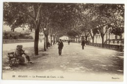GRASSE. - La Promenade Du Cours - Grasse