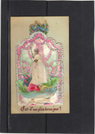 CARTE DE COMMUNION 1886 . (3CF146) - Religion & Esotérisme
