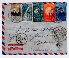 Old Letter - UAR, Egypt - Poste Aérienne
