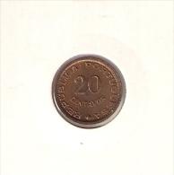 B9 Mozambique 20 Centavos 1974. UNC/AUNC - Mozambique