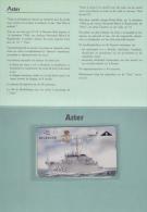 Privecard NR 500 Aster Marine (Mint,Neuve With Folder Rare ! - Belgien