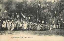 Mai13 1555 : Grande Comore  -  Fête Nationale - Comores