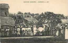 Mai13 1564 : Grande Comore  -  Moroni En 1885 - Comores