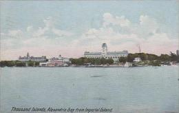 New York Thousand Islands Alexandria Bay From Imperial Island