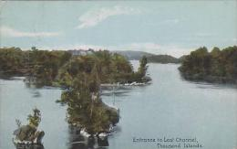 New York Thousand Islands Entrance To Lost Channel