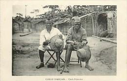 Mai13 1572 : Congo Français  -  Chefs Pahouins - Congo Francés - Otros