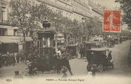D75 - PARIS  - Nouveau Kiosque Signal - Arrondissement: 09