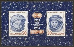 ESPACIO - BULGARIA 1983 - Yvert #H112 - MNH ** - Espacio