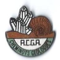 ACGA - A18 - CHEMINOTS GEOLOGUES - QUARTZ Et AMMONITE - Verso :MT - TGV