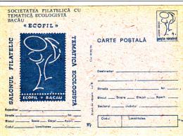 ECOLOGY, ENVIRONEMENT PROTECTION, PC STATIONERY, ENTIERE POSTAUX, 1991, ROMANIA - Protection De L'environnement & Climat