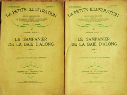 Y. Schlutz - Le Sampanier De La Baie D'Along - La Petite Illustration N°  507 / 508 - Roman  N° 226 / 227 - 1930 - Bücher, Zeitschriften, Comics