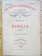 Émile Sedeyn - Nihila - La Petite Illustration N°  522 - Roman  N° 236 - 4 Avril 1931 - Bücher, Zeitschriften, Comics